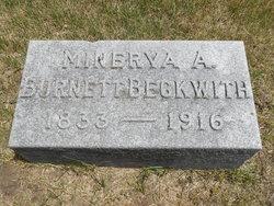 Minerva A. Burnett <I>Boyden</I> Beckwith