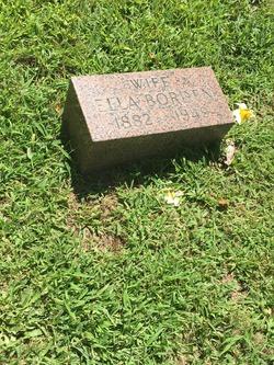 Ida Ella <I>Cordery</I> Borden