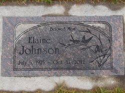 E. Elaine <I>Westad</I> Johnson
