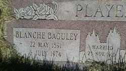 Blanche Mable <I>Baguley</I> Player