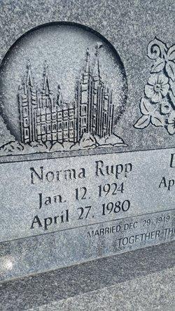 Norma Lavern <I>Rupp</I> Haueter