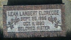 Leah Lambert Eldredge