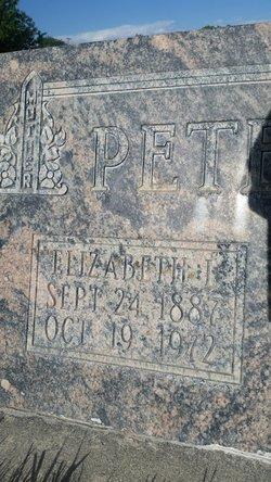 Elizabeth Druce <I>Lambert</I> Petersen