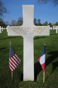 PFC George Earl Aldrich