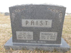 Elsie O. <I>Osgood</I> Paist