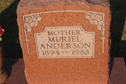 Muriel <I>Curry</I> Anderson