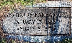 Gertrude Barbarick