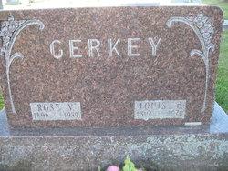 Rose V Gerkey