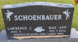 Mae Ann Kubes Schoenbauer 1931 2014 Find A Grave Memorial