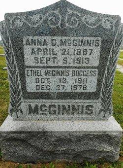 Ethel Luella <I>McGinnis</I> Boggess