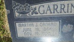 Martha Jane <I>Canaan</I> Garringer