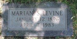 Marian S Levine