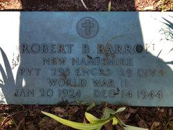 PVT Robert Benton Barron