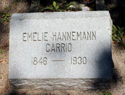 Emelie <I>Hanneman</I> Carrio