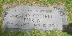 Dorothy <I>Cottrell</I> Pipkin