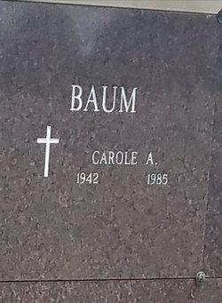 Carole Ann <I>Regan</I> Baum