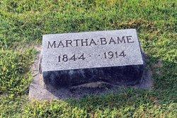 Martha <I>Eddleman</I> Bame