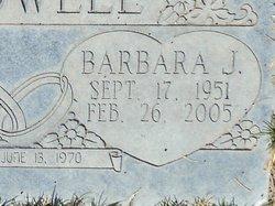 Barbara J <I>Garcia</I> Caldwell