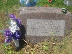 Leona <I>Crisp</I> Adams