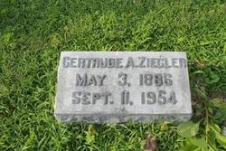 Gertrude A. <I>Lindsey</I> Ziegler