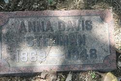 Anna Davis Stedman