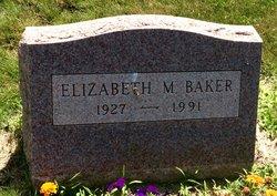 Elizabeth M <I>LaFrancois</I> Baker