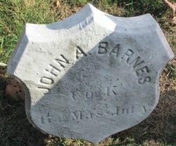 Pvt John A. Barnes