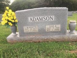 Lois Antoinette <I>Rogers</I> Adamson