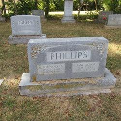 Jane <I>Agnor</I> Phillips