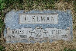 Helen E. <I>Tierney</I> Dukeman