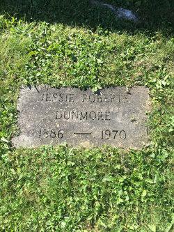 Jessie <I>Roberts</I> Dunmore