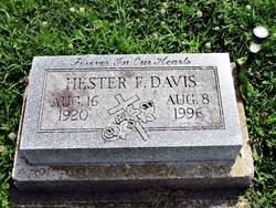 Hester <I>Kemp</I> Davis