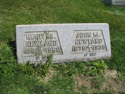 Mary M Newland