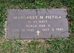 Margaret M Pietila