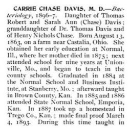Dr Carrie Chase Davis