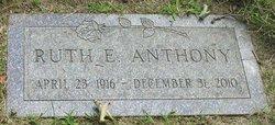 Ruth Eileen <I>Dalrymple</I> Anthony
