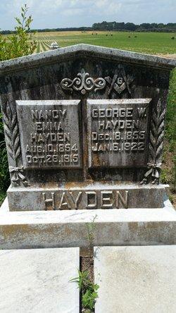 Nancy Emma <I>Peavy</I> Hayden