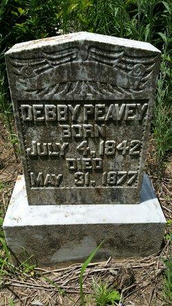 """Deborah """"Debby"""" Peavy"""
