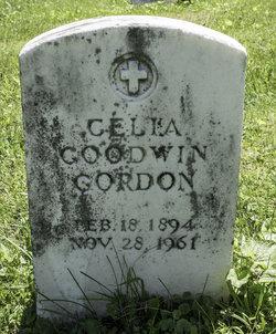 Celia Williams <I>Goodwin</I> Gordon