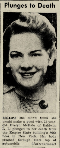 evelyn francis mchale 1923 1947 find a grave memorial