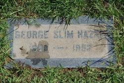 George Slim Hazel