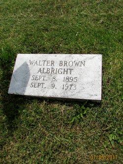 Walter Brown Albright