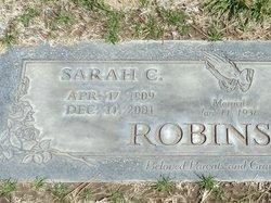 Sarah Mary <I>Chavez</I> Robinson