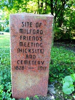 Milford Friends Cemetery