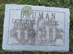Catherine <I>Sassman</I> Bauman
