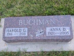 Anna Dorothy <I>Wietzema</I> Buchman