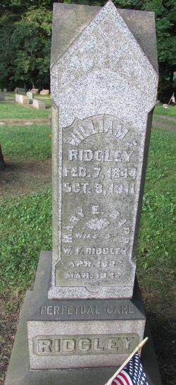 Mary Elizabeth <I>Barr</I> Ridgley