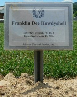 Franklin Dee Howdyshell (1934-2016) - Find A Grave Memorial