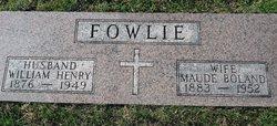"William Henry ""Bill"" Fowlie"