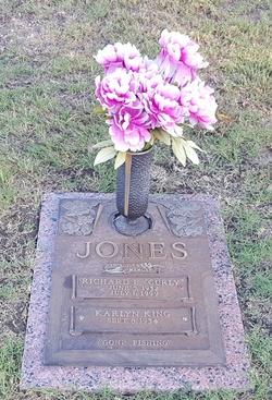 """Richard Eugene """"Curly"""" Jones"""
